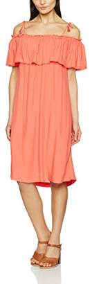 Suncoo Women's Cladie Dress, Red (23/Coral), (Manufacture Size: T1)