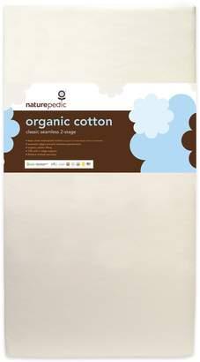 Naturepedic Lightweight Organic Cotton Classic 2-Stage Crib Mattress