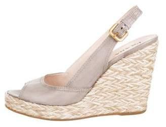 c20f1588dd1 Prada Espadrille Wedge Women s Sandals - ShopStyle
