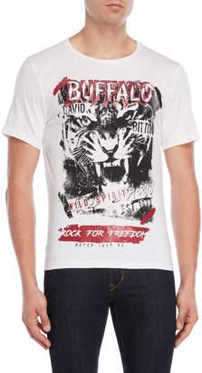 Buffalo David Bitton Neslon Buff Tiger Tee