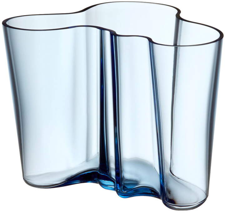 Aalto Vase Savoy 160 mm, aqua