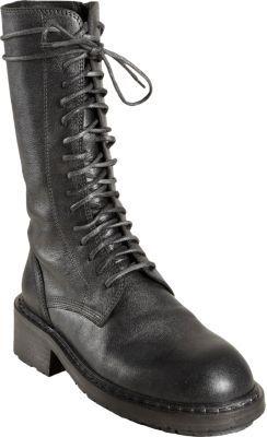 Ann Demeulemeester Mid-Calf Combat Boot