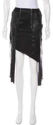 Vivienne Hu Asymmetrical Fringe Skirt w/ Tags