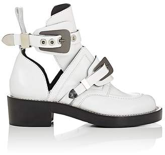 Balenciaga Women's Ceinture Leather Ankle Boots