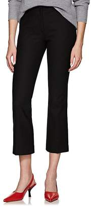 Pt01 Women's Jaine Stretch-Crepe Flared Crop Trousers