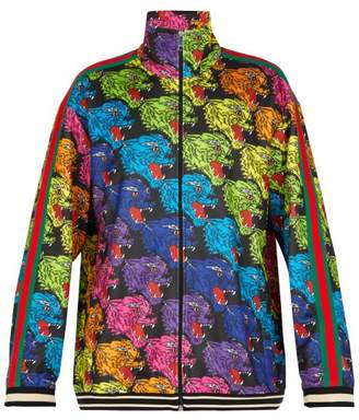 Gucci - Angry Tiger Printed Track Top - Mens - Multi