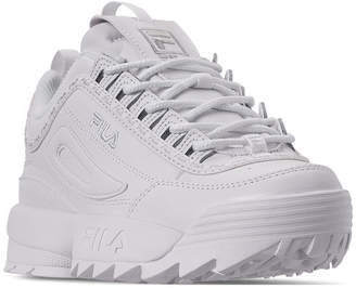 Fila Women Disruptor Ii Premium Repeat Casual Athletic Sneakers from Finish Line