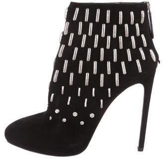 Alaia Embellished Ankle Boots