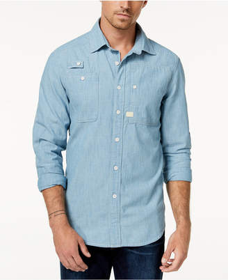 G Star Men's Chambray Shirt, Created for Macy's