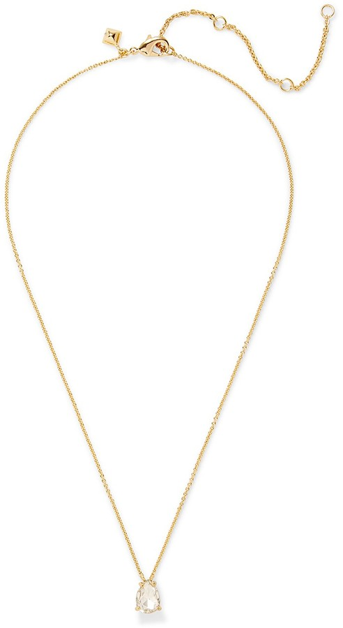 Rebecca Minkoff Crystal Drop Delicate Necklace