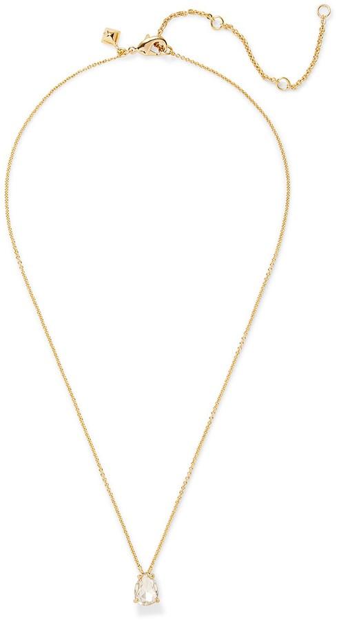 Rebecca MinkoffCrystal Drop Delicate Necklace