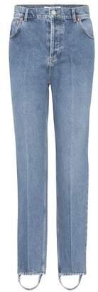 Balenciaga Exclusive to mytheresa.com – High-rise stirrup jeans