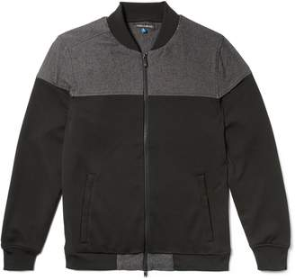 Vince Camuto Mens Colorblock Bomber Jacket