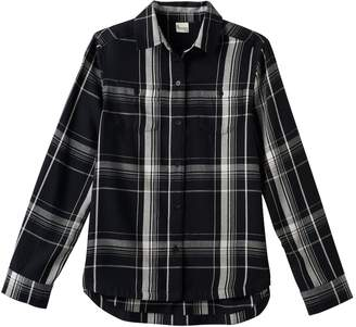 Mudd Girls Plus Size Embroidered Back Plaid Button-Down Shirt
