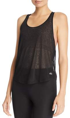 Alo Yoga Arrow Racerback Tank