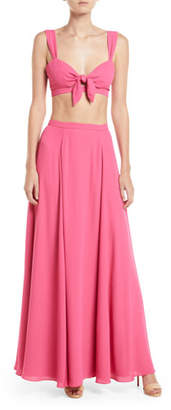 Fame & Partners The Elsie Two-Piece Crop Top & Skirt Set