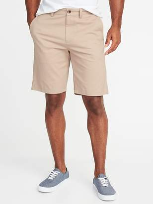 Old Navy Slim Ultimate Built-In Flex Khaki Shorts for Men - 10 inch inseam