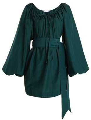 Kalita - Pegasus Balloon Sleeve Dress - Womens - Green