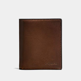 COACH Coach Slim Coin Wallet In Sport Calf Leather $165 thestylecure.com