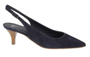 Lolo Ornella Slingback Suede Navy