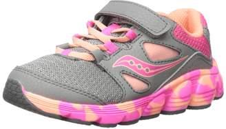 Saucony Girl's Kotaro 4 A/C Running Shoes, Navy/Multi