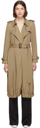 Burberry Beige Clya Trench Coat