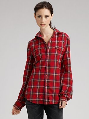 The Shirt by Joe's Slim Plaid Shirt