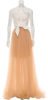 DELPOZO 2018 Tulle Evening Gown 2018 Tulle Evening Gown