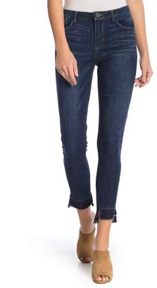 Democracy Step Hem Distressed Jeans