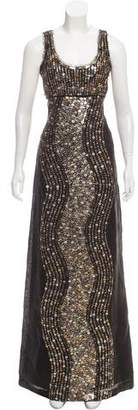Tory Burch Sequin Embellished Evening Dress w/ Tags