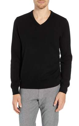 J.Crew Everyday Cashmere Regular Fit V-Neck Sweater