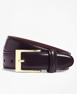 Brooks Brothers Cordovan Belt