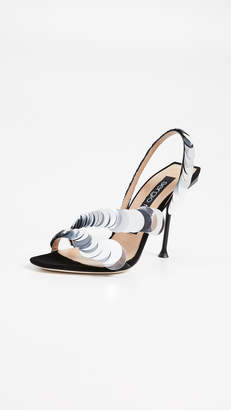 Sergio Rossi Sequin Sandals