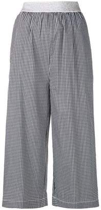 I'M Isola Marras cropped gingham trousers