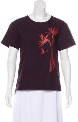 Maiyet Patterned Short Sleeve Top