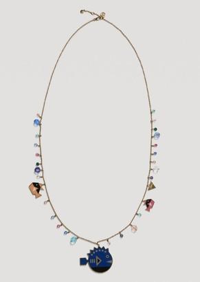 Emporio Armani Necklace With Cyber Waterworld Charm