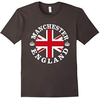 Manchester England UK Vintage British Union Jack T-Shirt