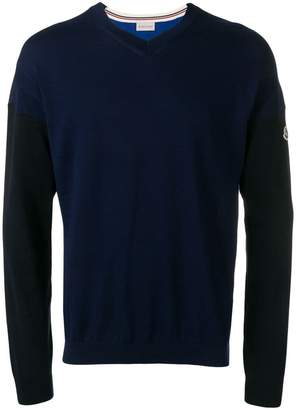 cf14e0eea Moncler Blue Men s Sweaters - ShopStyle