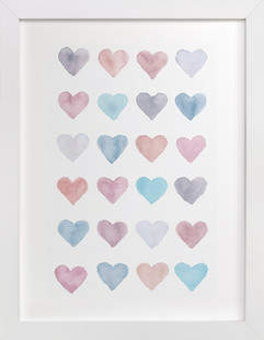 Love Aligned Art Print