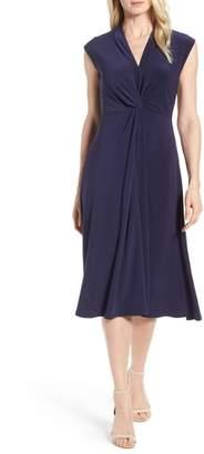 Chaus Knot Front Midi Dress