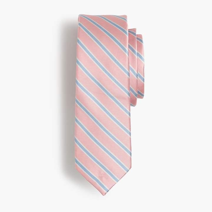 Boys' oxford tie in stripes