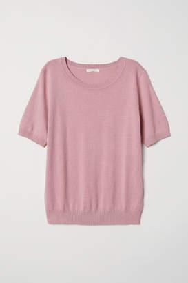 H&M Fine-knit Sweater - Pink