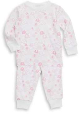 Kissy Kissy Baby's, Toddler's& Little Girl's Endearing Elephants Cotton Pajama Set