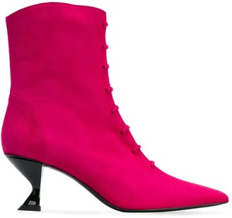 Dorateymur structured heel ankle boots