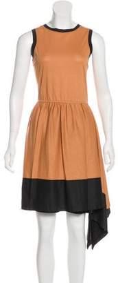Robert Rodriguez Asymmetrical Knee-Length Dress