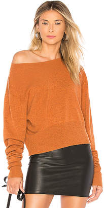 Autumn Cashmere Crop Boxy Sweater