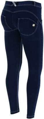 Freddy WR.up® Denim Regular Rise 7/8 Ankle - + White Stitching (, XS)