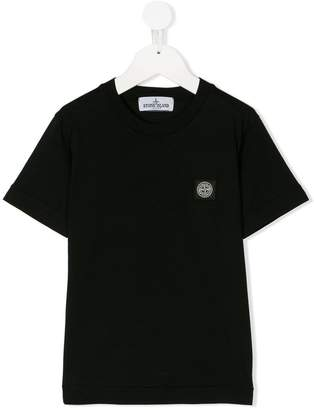 Stone Island Junior mini logo patch T-shirt