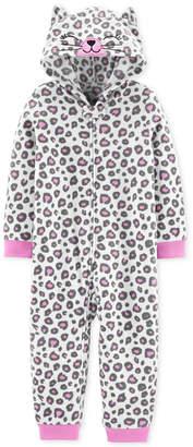 Carter's Carter Toddler Girls 1-Pc. Leopard-Print Pajama