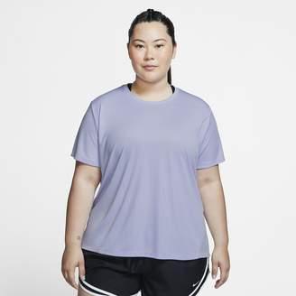 Nike Women's Short-Sleeve Running Top (Plus Size Miler